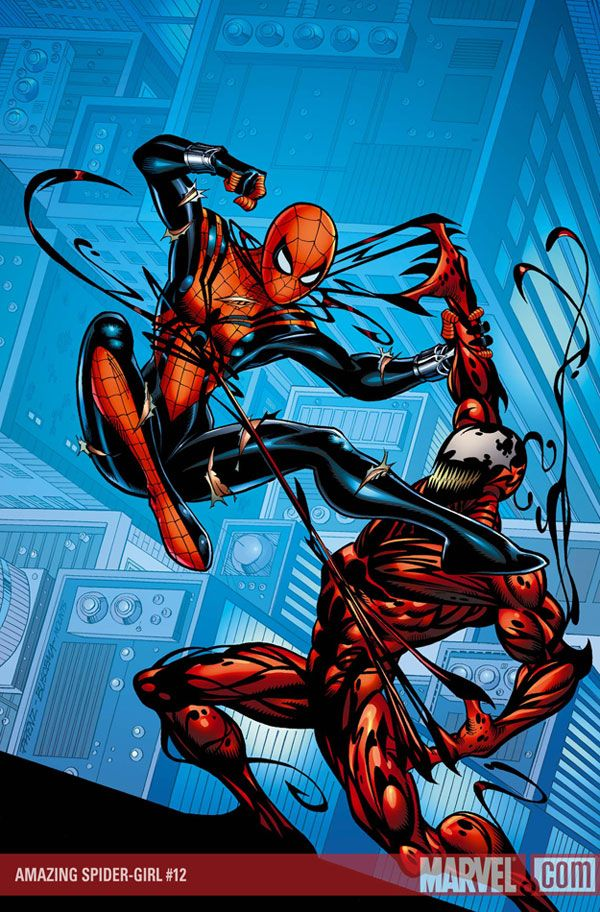 Spidergirl Vs Carnage By Kalulu77 On Deviantart Spider