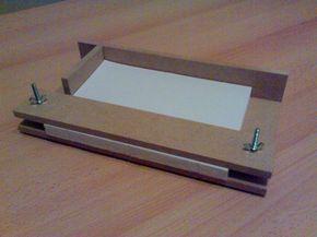 DIY binding equiptment