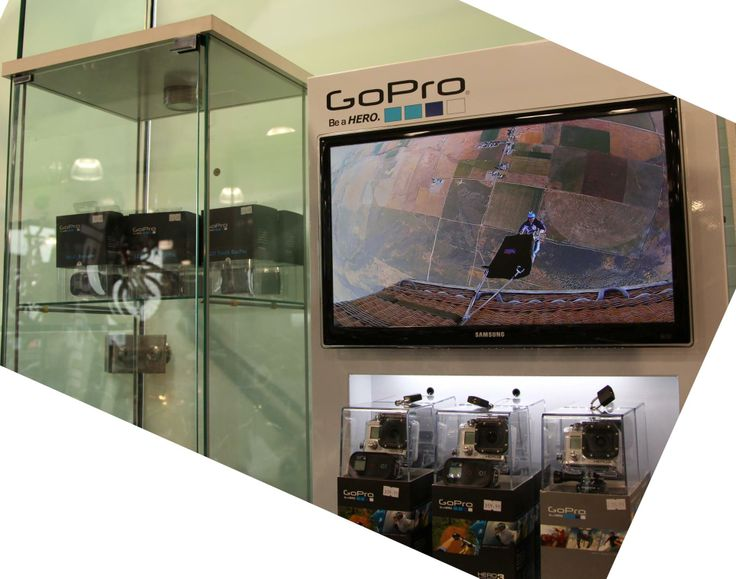 Our GoPro stand is looking good!