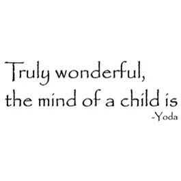 Yoda quote.