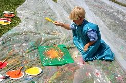Art Projects That Are Perfect to Do Outside