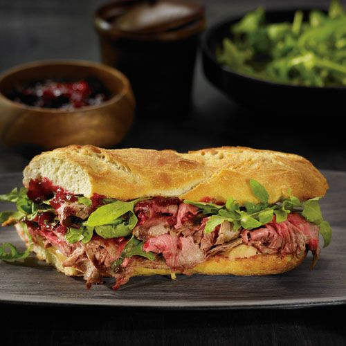 Gourmet Flank Steak Sandwiches #recipe