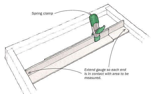 Simple Gauge for Inside Measurements By Richard Duda