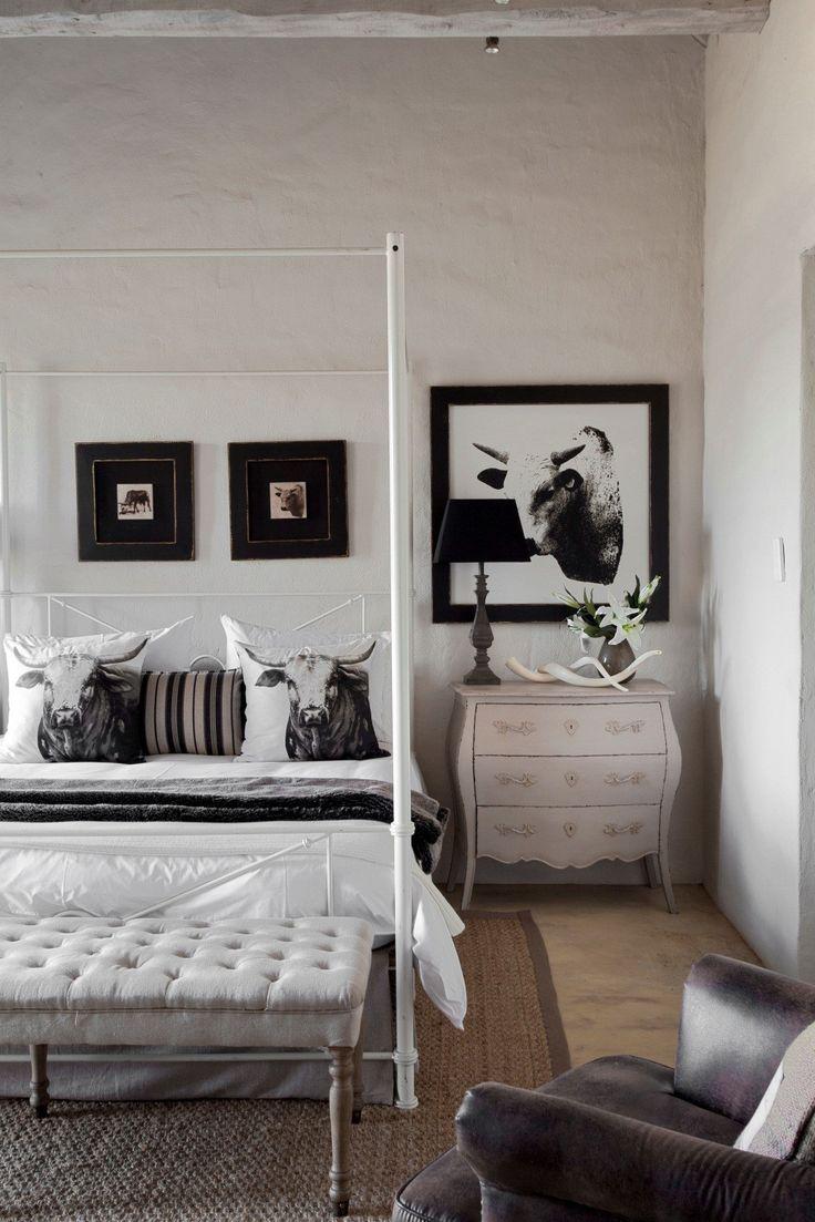 Dullstroom house guest bedroom