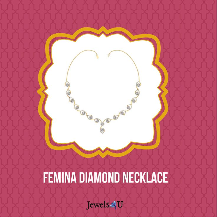 Buy this exquisite neckpiece only at jewels4u.in
