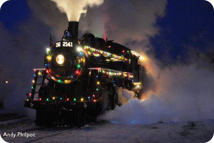 Kamloops Heritage Railway Steam Train in Kamloops, British Columbia