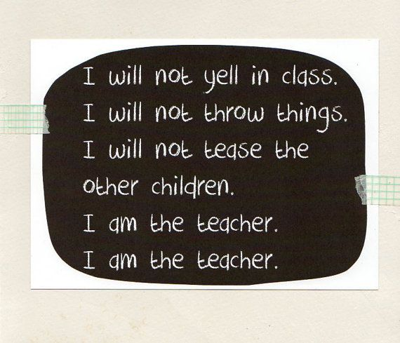 RESPECT to the TEACHER . 5 x 7 inch print . by ThePaisleyFive
