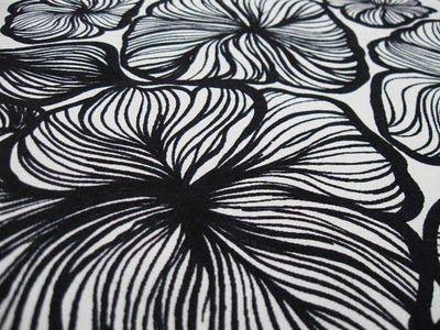 Retro Age Vintage Fabrics: Fin-Helen E Helenius Oy Scandinavian fabric in detail
