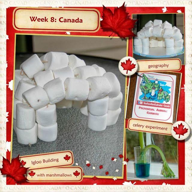 Week 8: Canada | Building an Igloo | Middle Beginnings: our homeschool adventure | MFW ECC