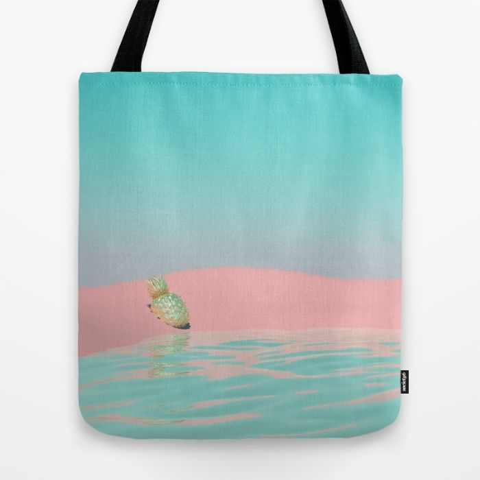 Pinapple Oasis Tote Bag