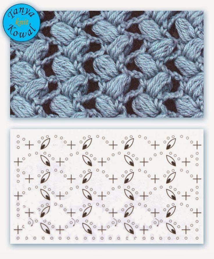 659 besten Bildern zu Muster Häkeln Stricken auf Pinterest