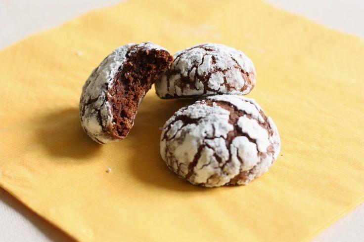 Les petits plats de Rose: Crinkles – biscuits au chocolat méga moelleux