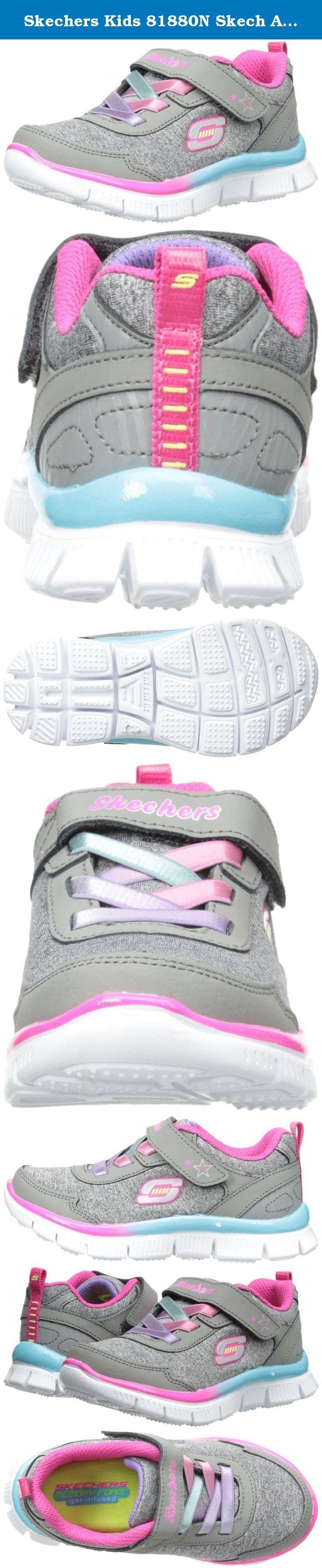 Skechers Kids 81880N Skech Appeal Athletic Sneaker ,Gray/Multi,5 M US Toddler. She'll love the fun sporty style of the LIL FLYER slip-on sneakers from SKECHERS.
