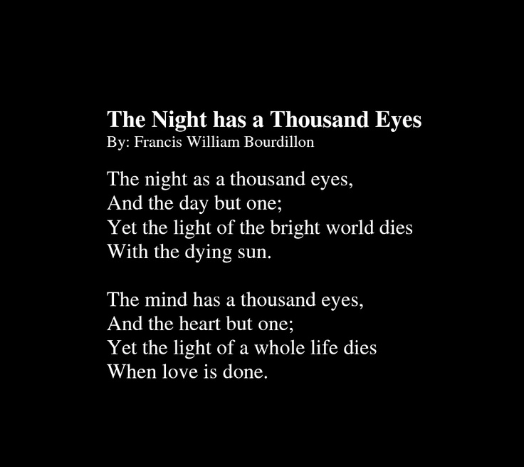 The Night has a Thousand Eyes by Francis William ...
