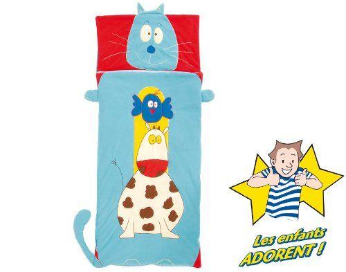 """Only for Kids"" sac de couchage enfant - Gaspard Bleu Câlin…"
