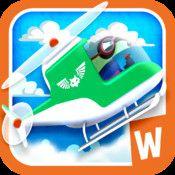 Wombi Helicopter - Bygg en helikopter och flyg på räddningsuppdrag | Pappas Appar
