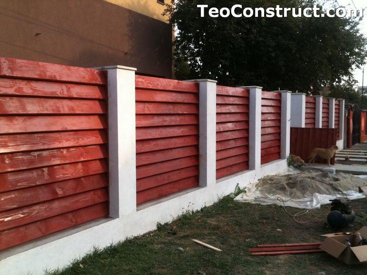 Garduri din lemn modele Pitesti 7