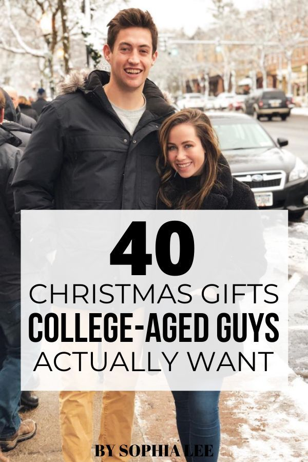 40 Christmas Gifts for College Boy That He'll Actually Use   By