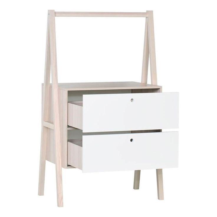 VOX Spot 2 Drawer Dresser White