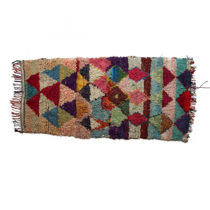 Boucherouite rug, no.536 { 180 x 125 cm } 2.800DKK