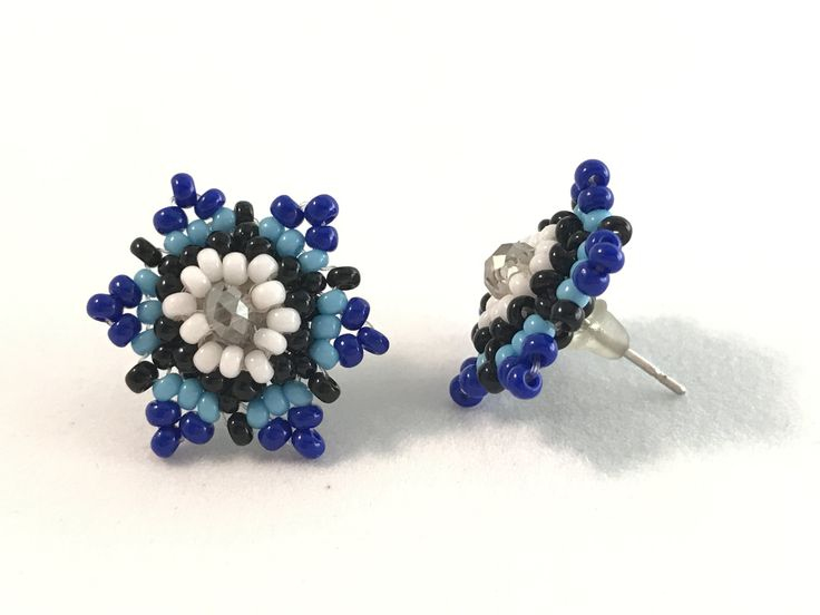 Mexican Beaded Earring