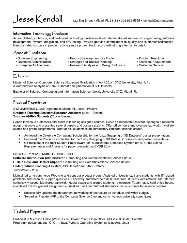 4196 Best Best Latest Resume Images On Pinterest | Resume Format