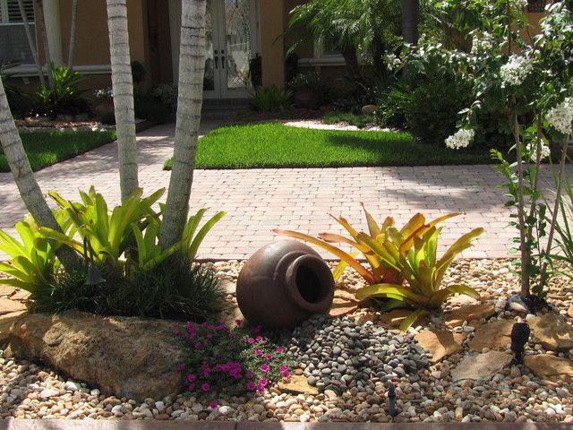 Front yard landscaping with rocks landscape ideas for - Front yard landscaping ideas with rocks ...