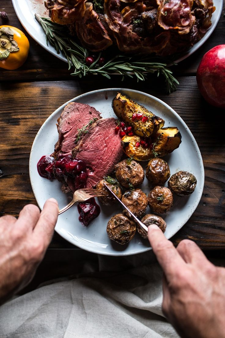 We've partnered with Tieghan Gerard, founder of Half Baked Harvest, to throw an ornament party complete with a tasty menu, including main dishes and sides.
