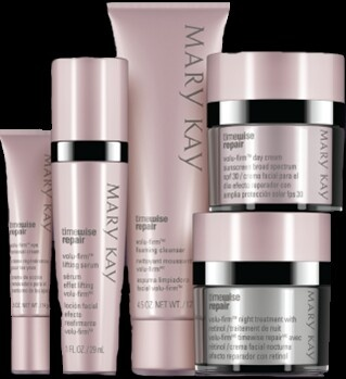 Love love love our new skincare system! Timewise Repair!