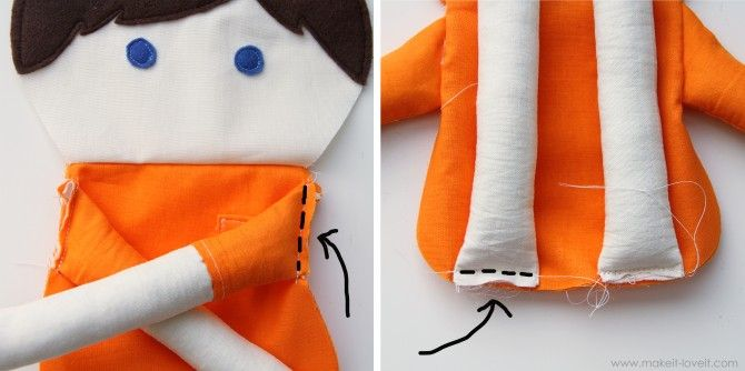 Doll Patterns To Sew | Free Printable Cloth Doll Patterns