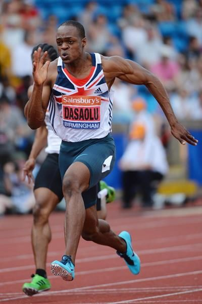 James Desaolu - 4 by 100 metres relay.