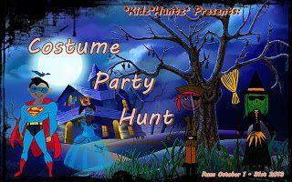 Secondlife Hunts : Halloween Kid & Parent Hunt: Costume Party Hunt!