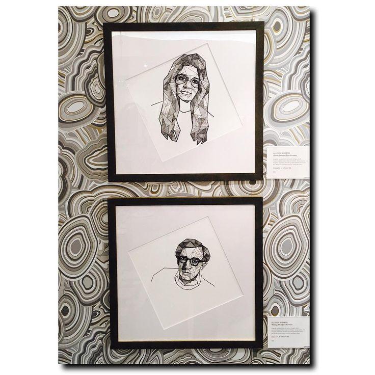 Spotted in San Francisco... . Woody Allen? EW. Woody Allen displayed by Gloria Steinem? No. just, no. . #JustSaying #Feminist #GloriaSteinem #WoodyAllen #JonathanAdler #Art #Display #Decor #Fillmore #SF #SanFrancisco #Realtor #RealEstate #ColdwellBanker