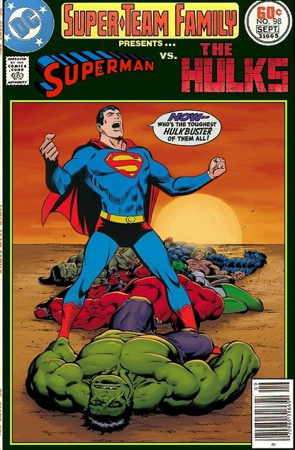 Super-Team Family: The Lost Issues!: Superman Vs. The Hulks