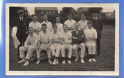 #Superb #1919c cricket sports team in their whites rp #photo vintage postcard ,  View more on the LINK: http://www.zeppy.io/product/gb/2/291902947739/