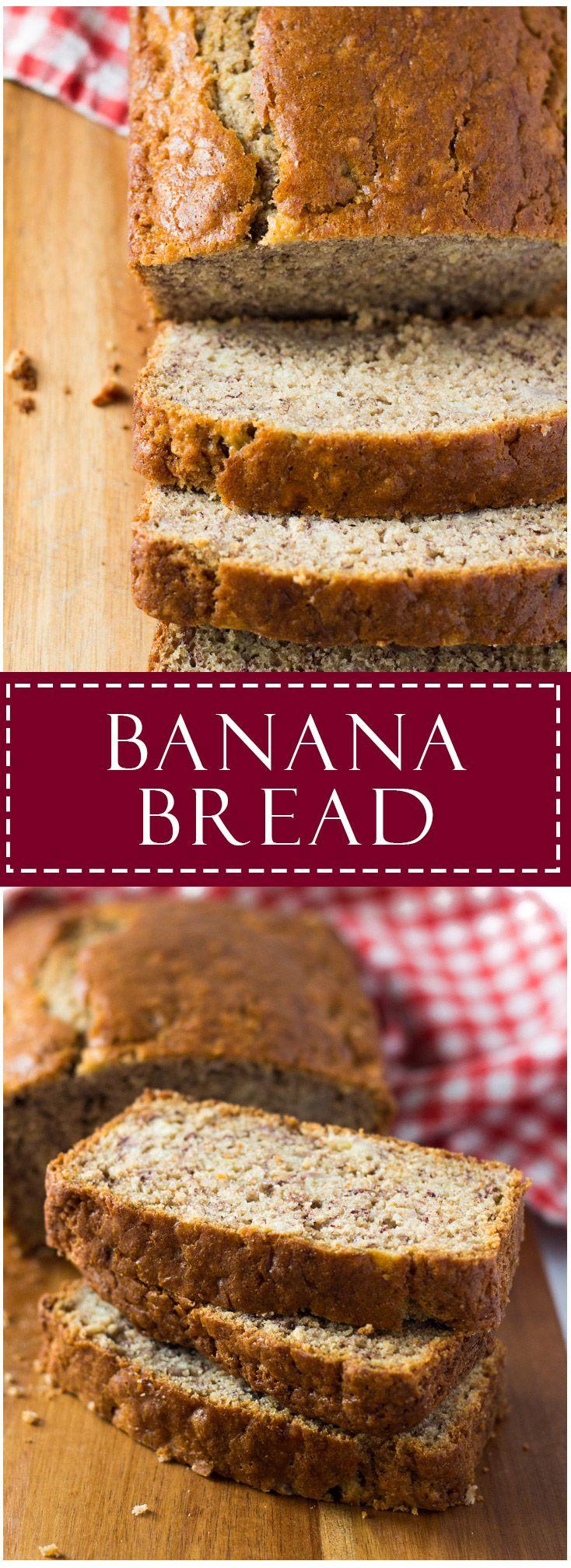 Banana Bread | Marsha's Baking Addiction #ad