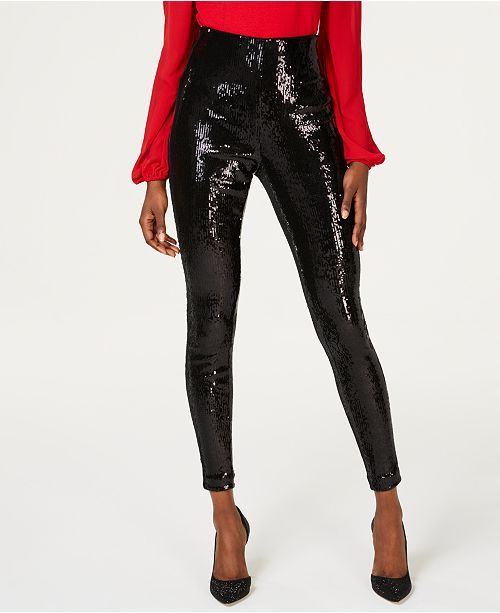 05d5ff150e042 I.N.C. Sequined Skinny Ankle Pants, Created for Macy's in 2019 ...