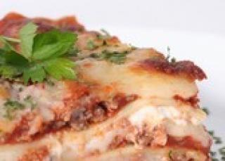 Lasagnes au micro-ondes