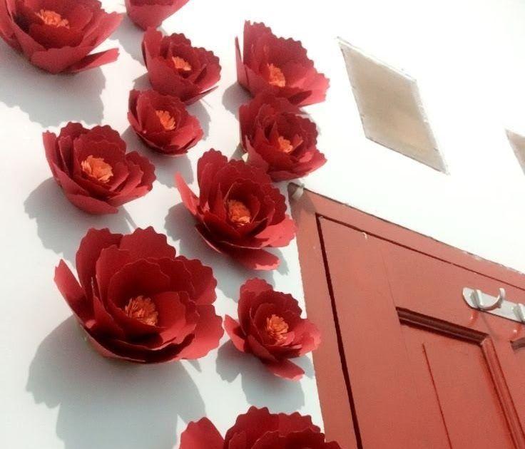 Terkeren 22 Gambar Bunga Kertas Terbaru Contoh Hiasan Dinding Bunga Dari Kertas Terbaru Januari 13 Macam Bunga Kert Di 2020 Bunga Kertas Karangan Bunga Kertas Bunga