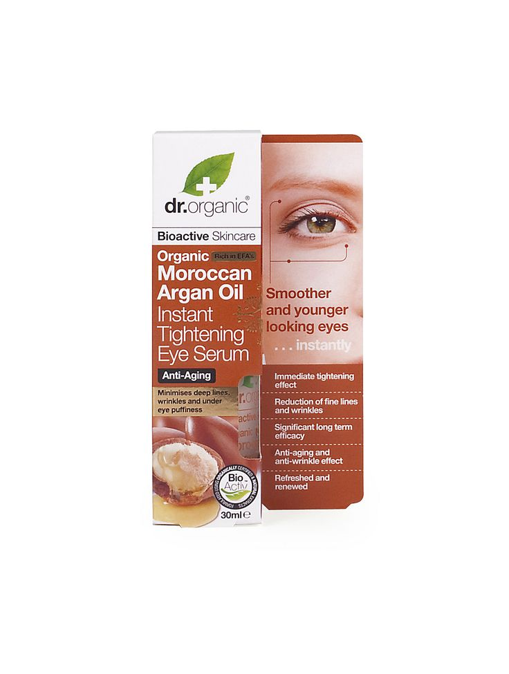 Instant Tightening Eye Serum - Siero Occhi Instantaneo - Dr. Organic