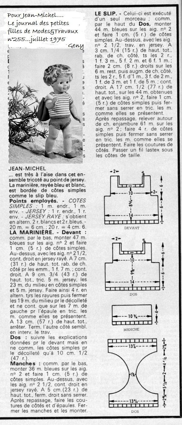 Sur le chemin de la plage Mode et Travaux...Juillet 1975 - http://genyanddolls.over-blog.com/article-sur-le-chemin-de-la-plage-mode-et-travaux-81464188.html