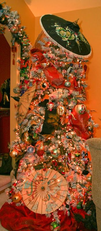 17 Best images about Asian Themed Christmas Trees on ...