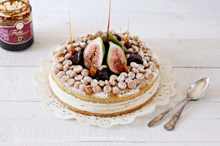 Torta ricotta e fichi caramellati | La ricetta che Vale