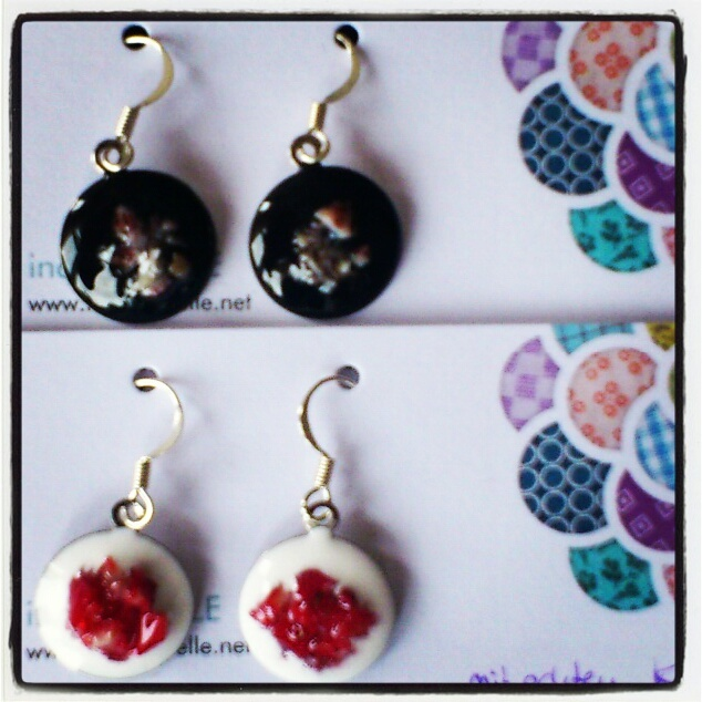 spring collection #jewelry #earrings #romantic #diy #handmade