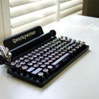 Retro Schreibmaschinen-Tastatur
