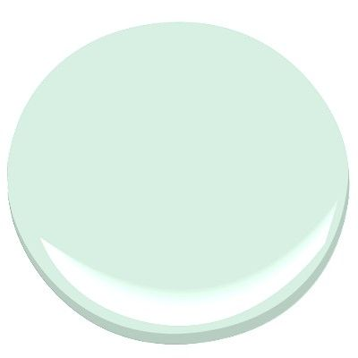 Cool Mint- Benjamin Moore- MasterBath Color??
