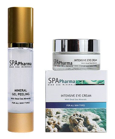 Another great find on #zulily! Dead Sea Mineral Peeling Gel & Eye Cream Set by SPApharma #zulilyfinds