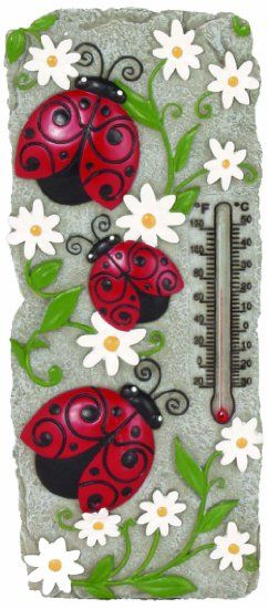 Spoontiques Ladybug Thermometer