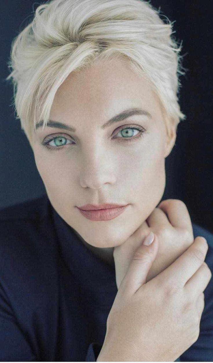 short hairstyles for women Over 60 Gray #shorthair…