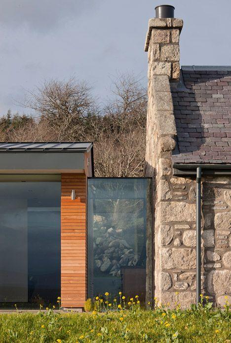 Torispardon reinterprets farm buildings as a modern home